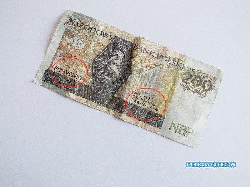 Uwaga na banknoty prezentowe