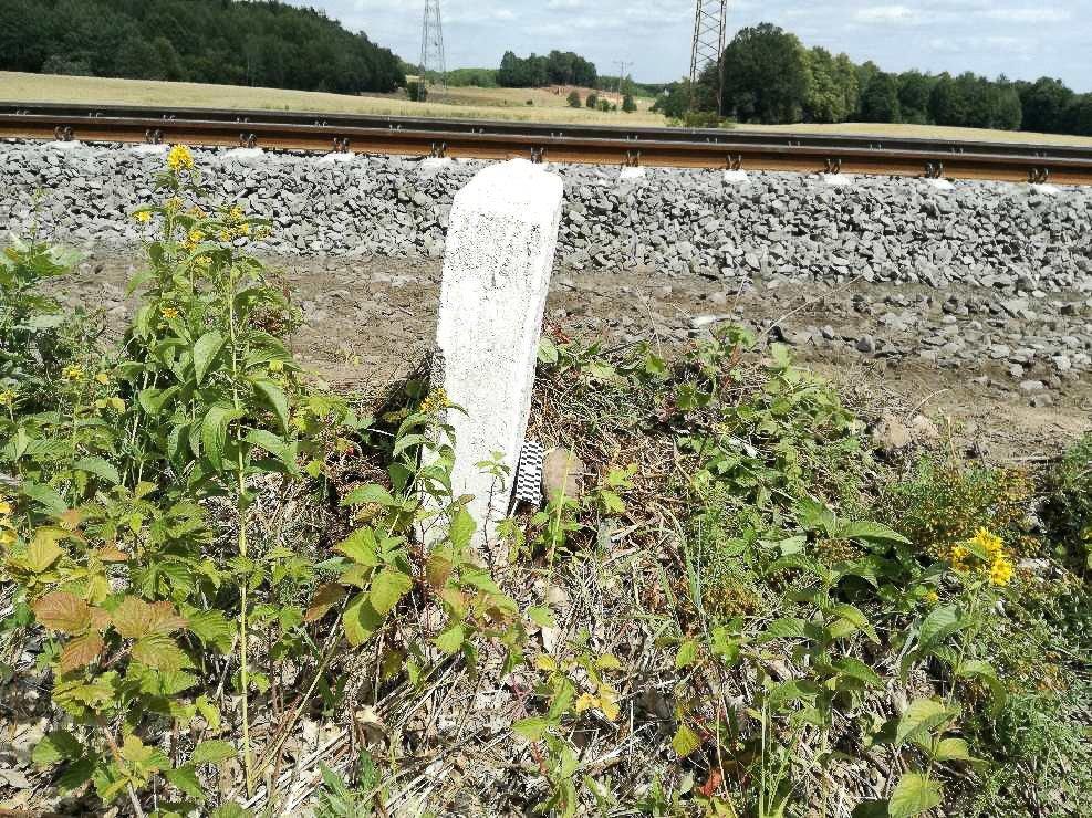 Granat przy linii kolejowej. Niewybuchem zajęli się nasi saperzy