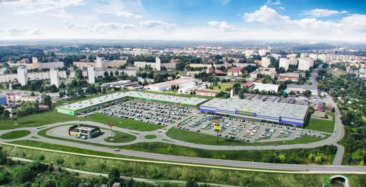 Vendo Park w Bolesławcu - wizualizacja