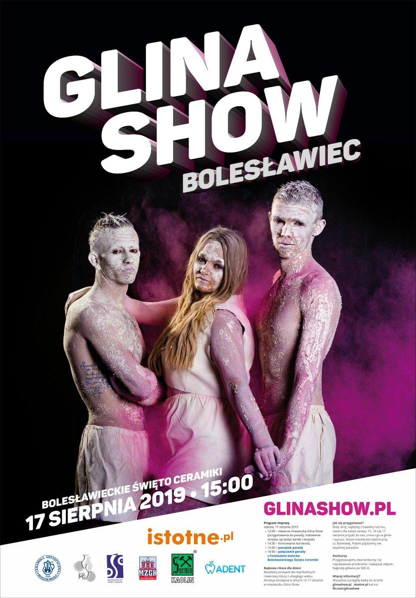 Plakat Glina Show 2019