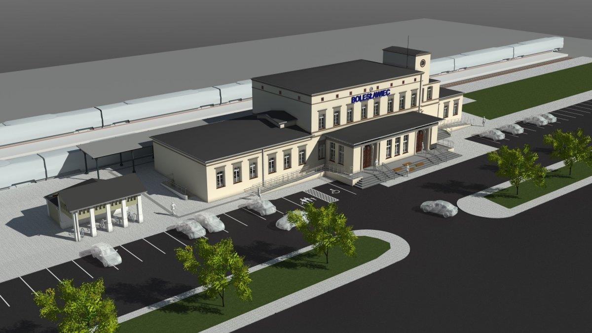 Dworzec PKP (wizualizacje)