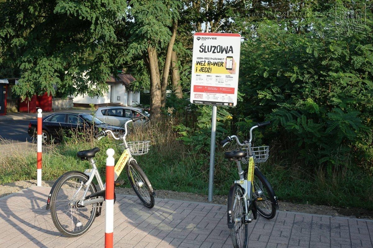 Nowe stacje parkowania BROM na Śluzowej