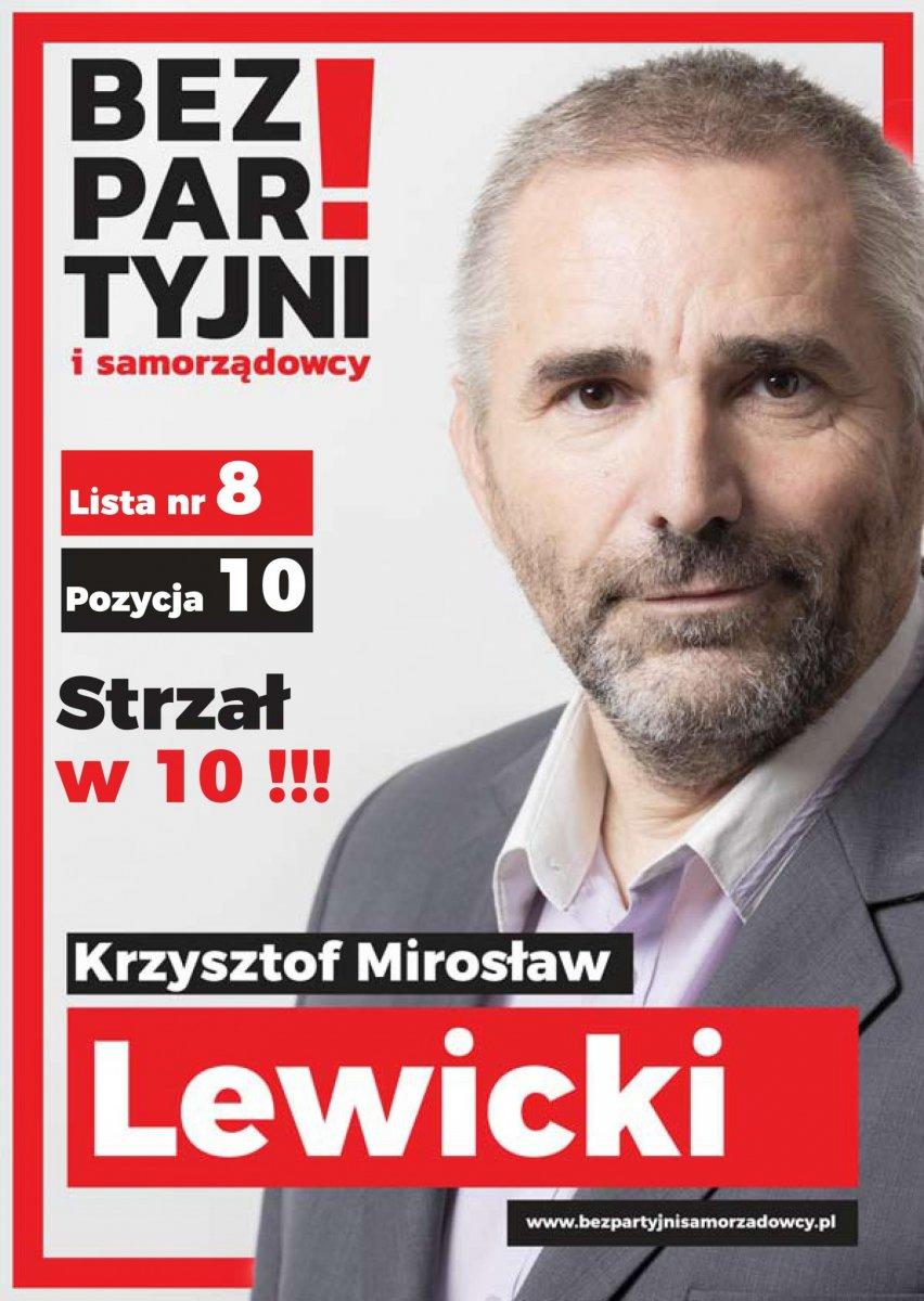 Baner Krzysztof Lewicki