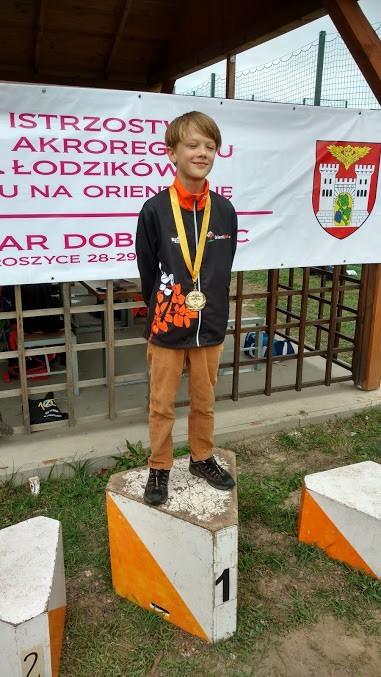 Cztery medale młodych orientparkowców z Iwin