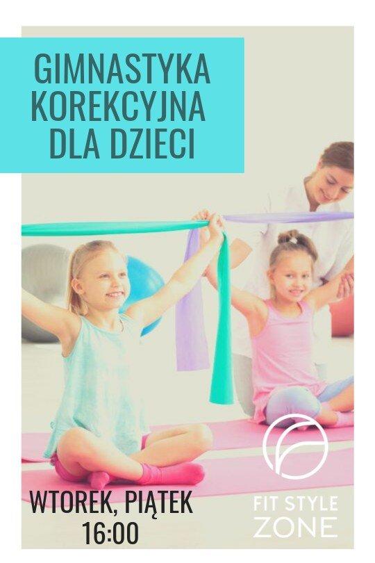Gimnastyka korekcyjna w Fit Style Zone