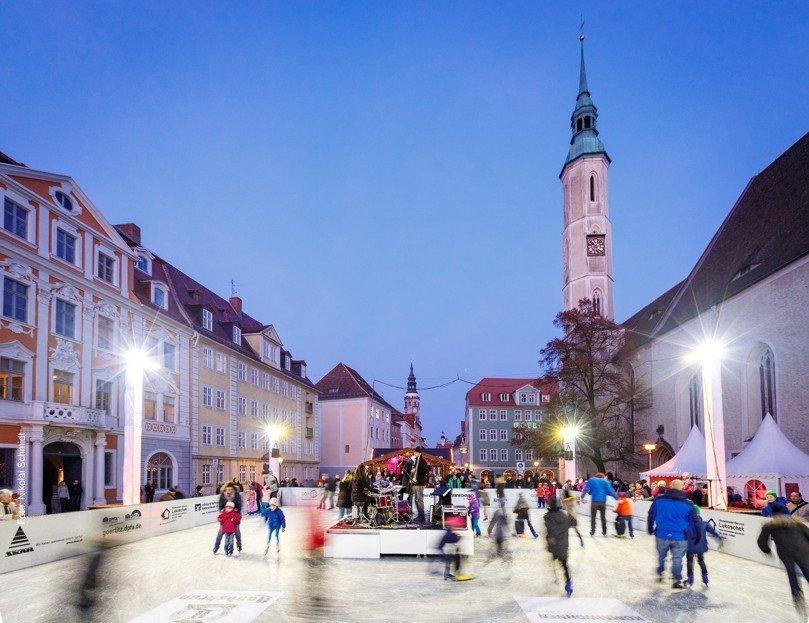 Lodowisko w Görlitz