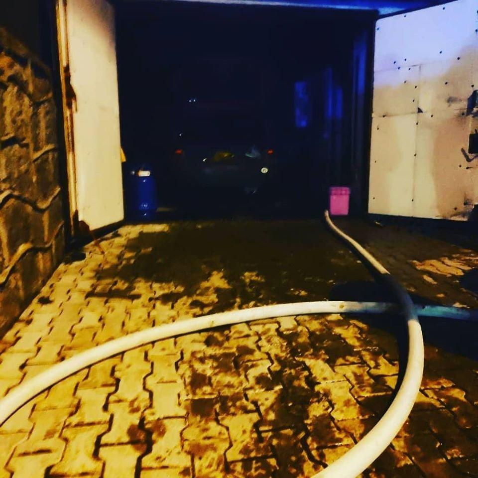 Pożar kotłowni w Milikowie