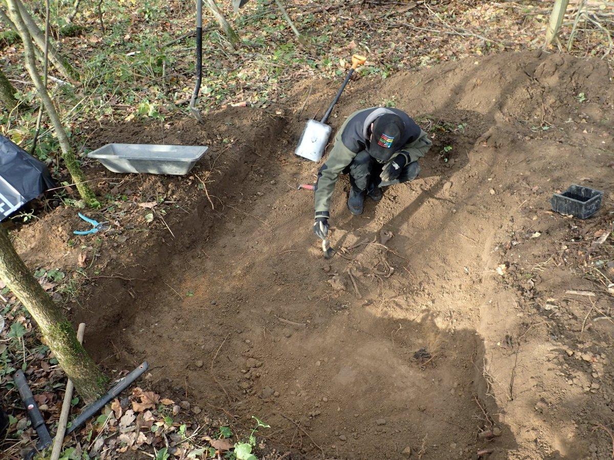 Szczątki dwóch żołnierzy niemieckich znaleziono w Dłużynie Dolnej