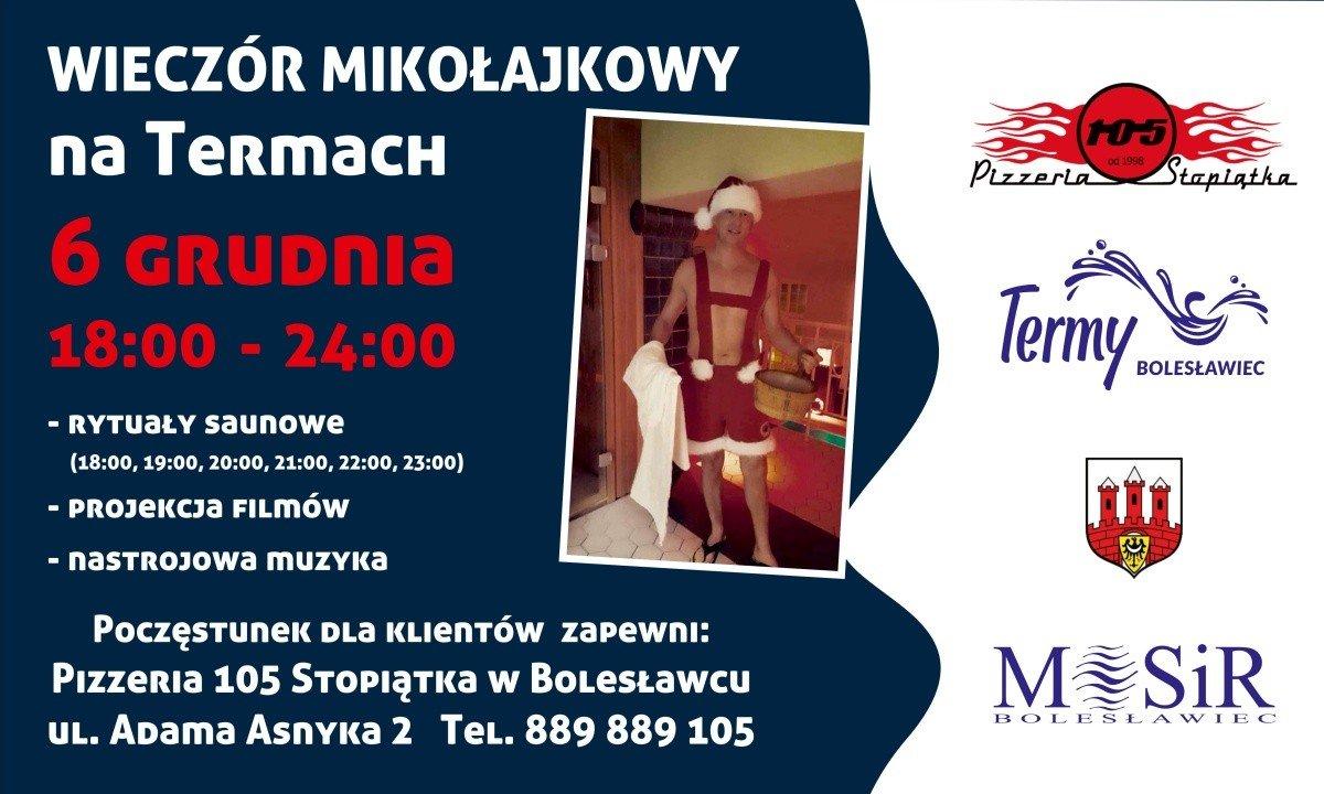 Termy Bolesławiec zapraszają na Mikołajki