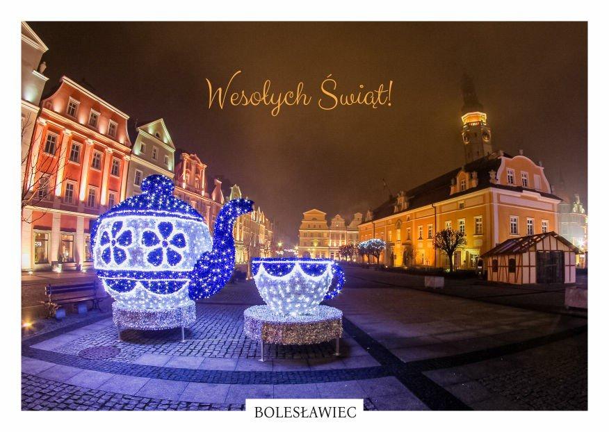 Świąteczne pocztówki z Bolesławca