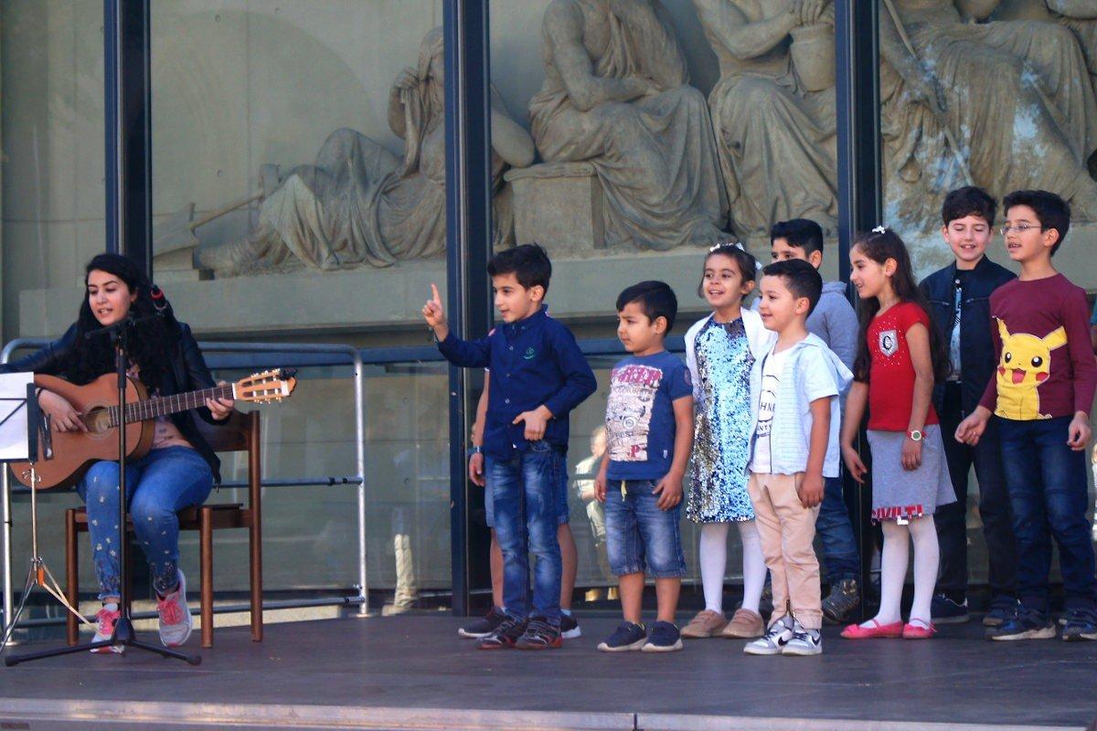 Występ dzieci arabskich 22.09.19