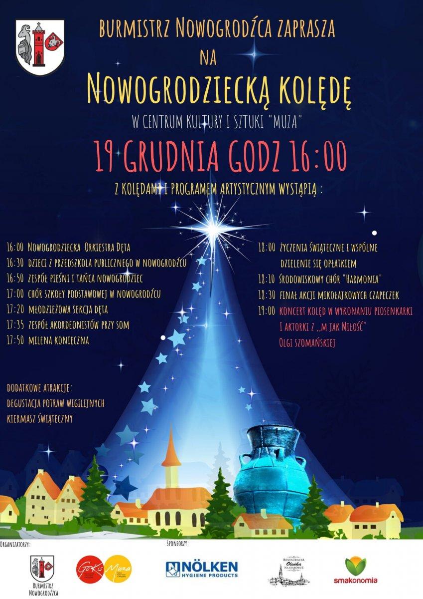 Nowogrodziecka Kolęda już w ten czwartek. Wystąpi Olga Szomańska!