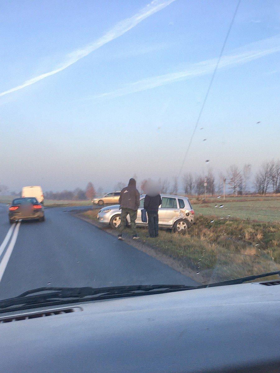 Wypadek w Iwinach
