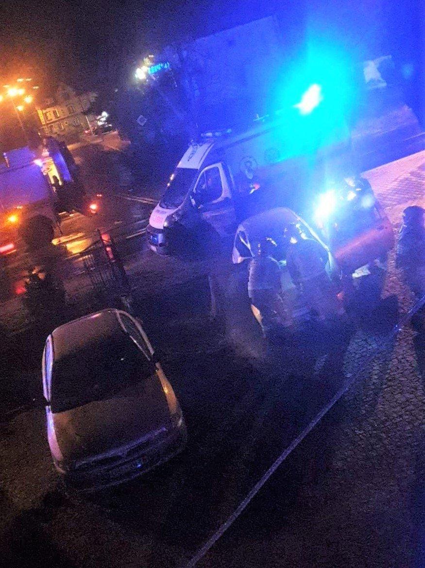 Akcja służb po wypadku w Kruszynie