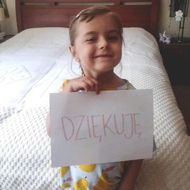Tosia Sobas, 5 lat