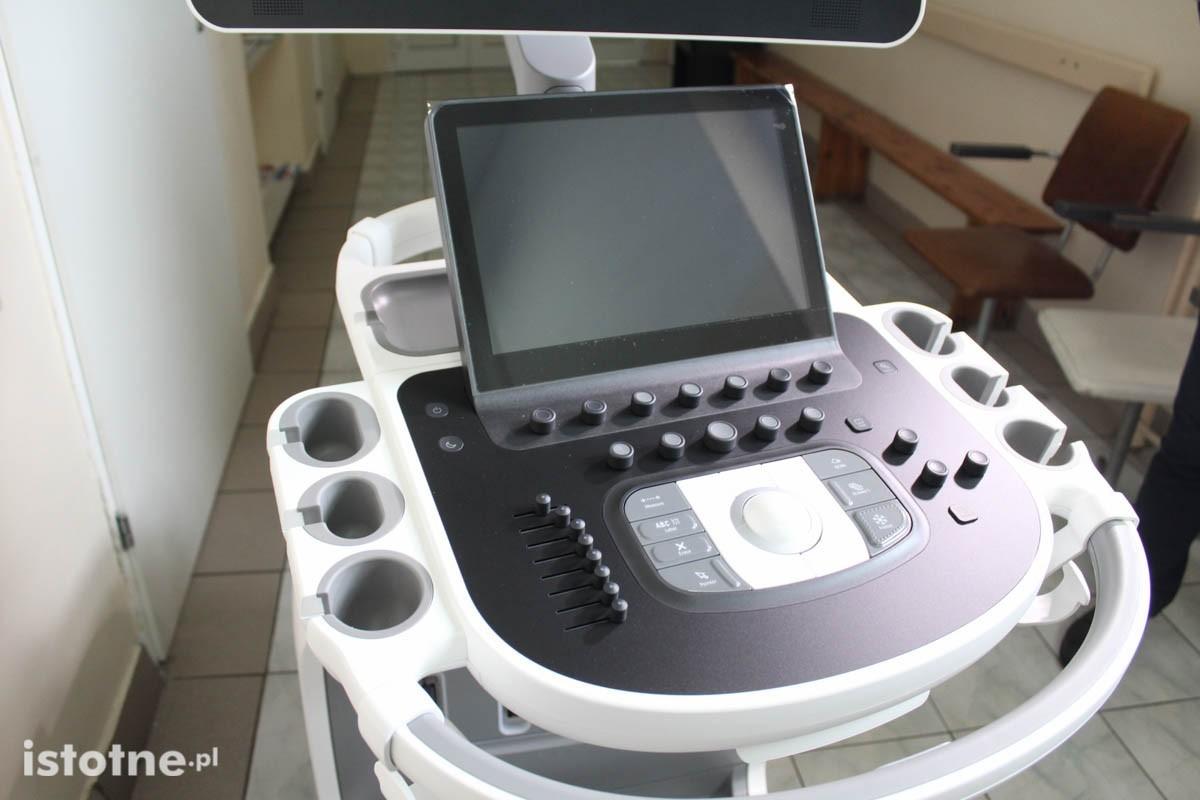 Nowoczesny ultrasonograf do badań serca w szpitalu w Bolesławcu