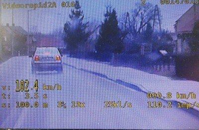 Kierowcy tego auta bolesławieccy policjanci zatrzymali prawo jazdy na 3 miesiące