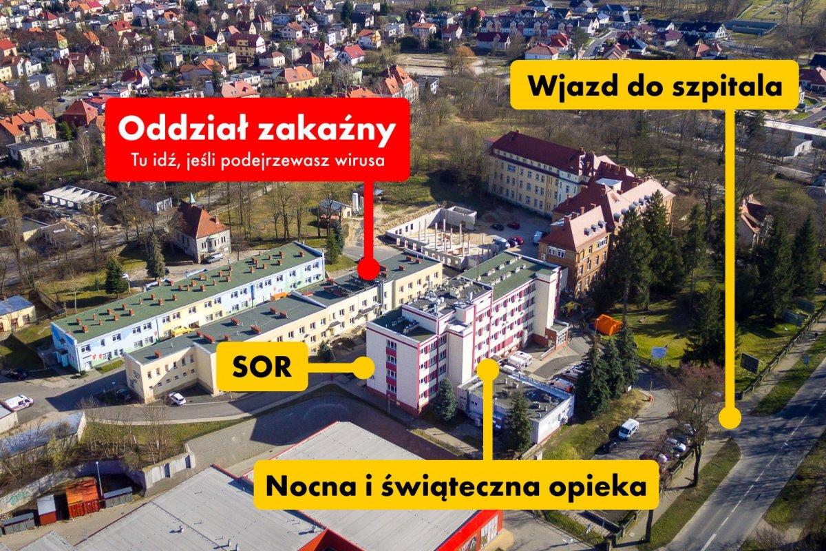 Szpital powiatowy w Bolesławcu