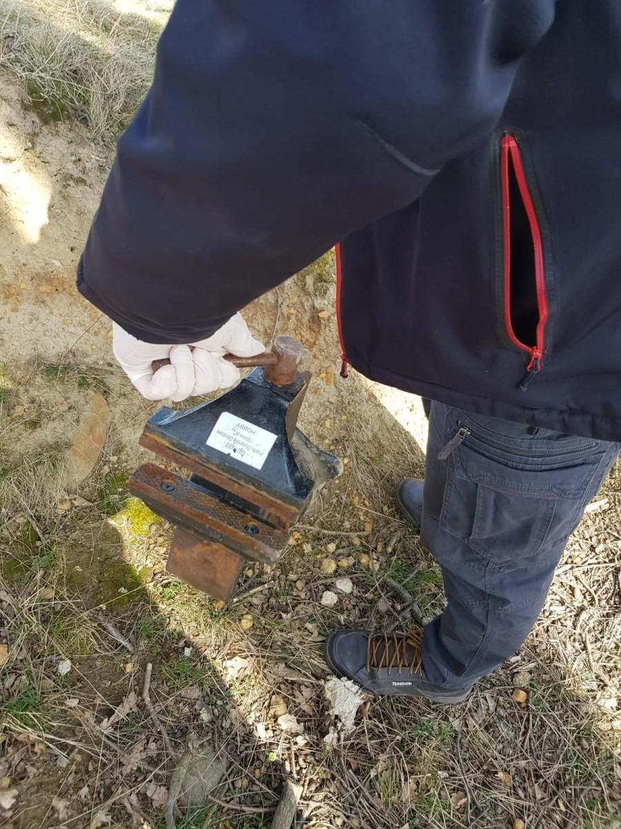Skradzione przedmioty odzyskane przez policjantów