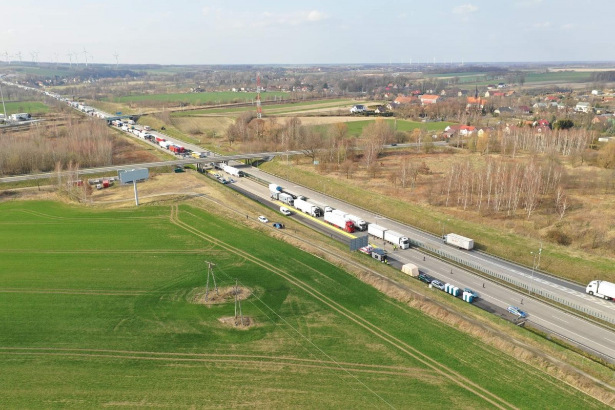 Granica Jędrzychowice. Kontrola sanitarna i graniczna