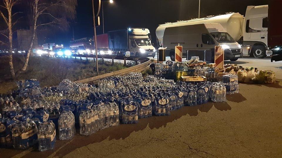 Woda na granicy w Jędrzychowicach