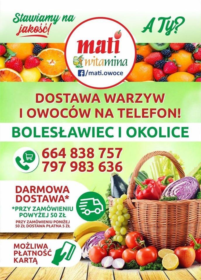 MATI Witamina: warzywa i owoce na telefon