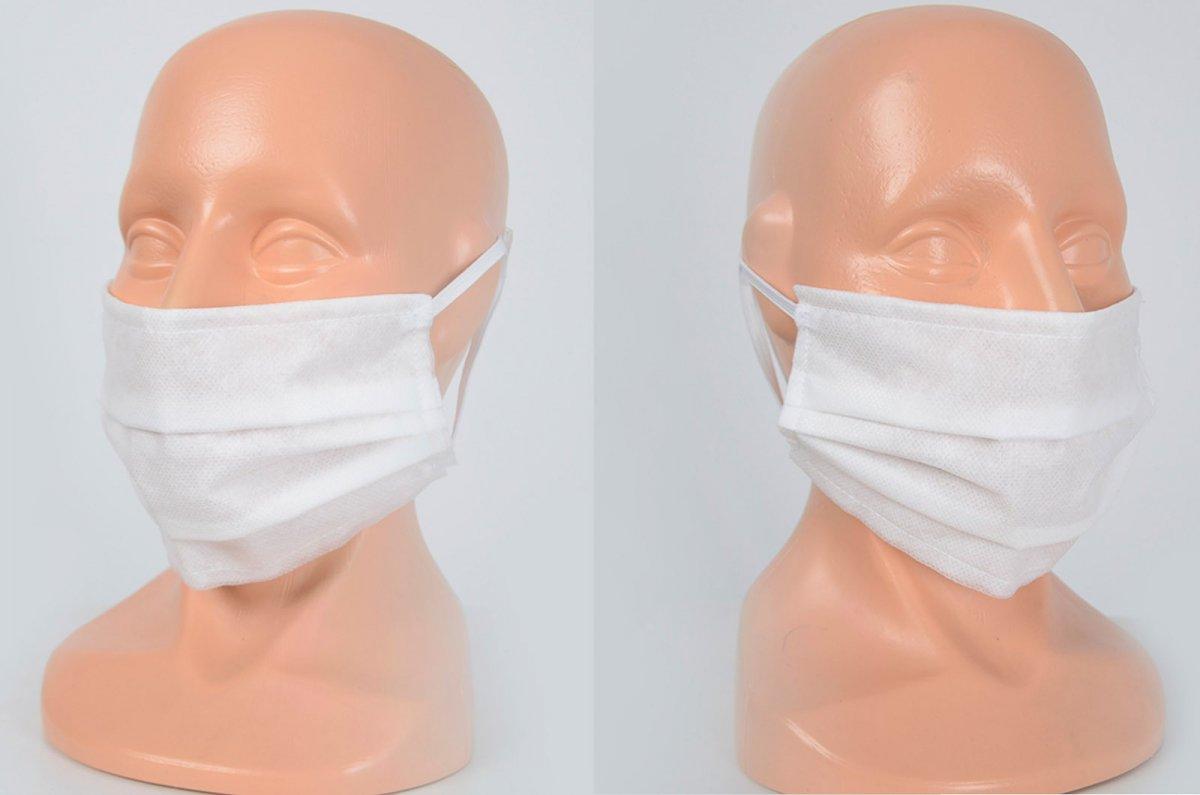 Maska z włókniny Spunbond 3-warstwowa