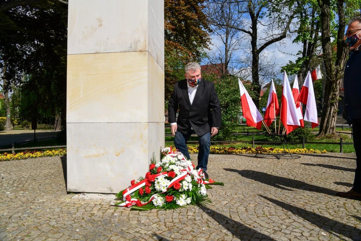 Uroczystość z okazji święta Konstytucji 3 maja w Bolesławcu