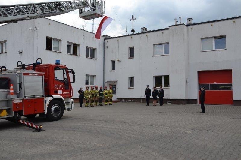 Obchody Międzynarodowego Dnia Strażaka w Komendzie Powiatowej PSP w Bolesławcu