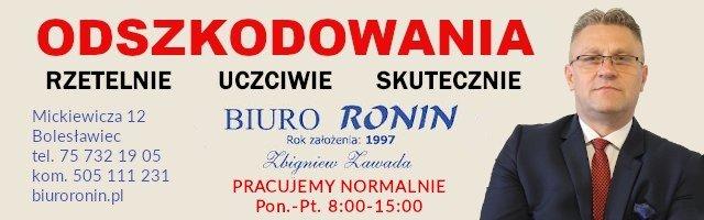 Odszkodowania Biuro Ronin Bolesławiec