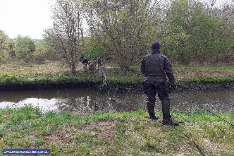 Poszukiwania Kacperka w Nowogrodźcu (powiat bolesławiecki) i okolicach