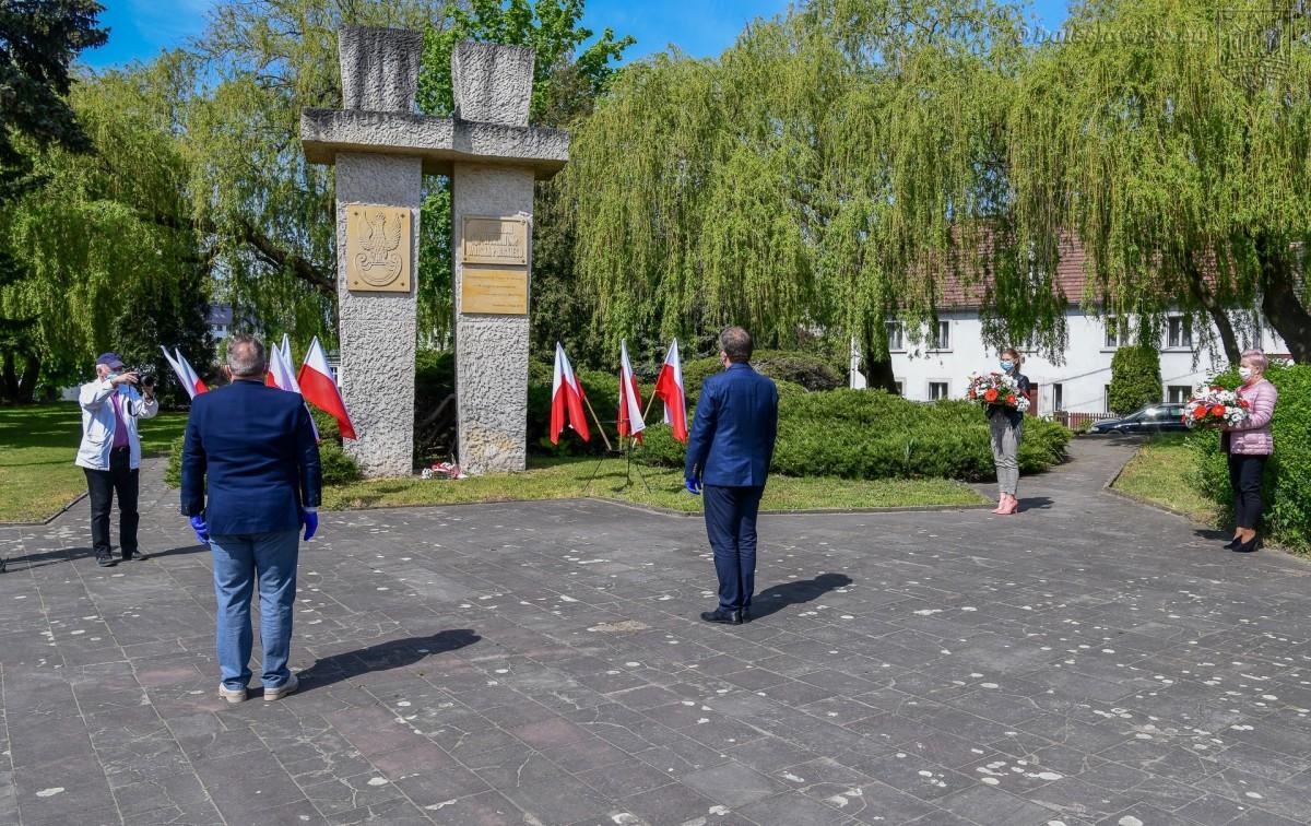 Bolesławiec: symboliczna uroczystość związana z rocznicą zakończenia II wojny światowej