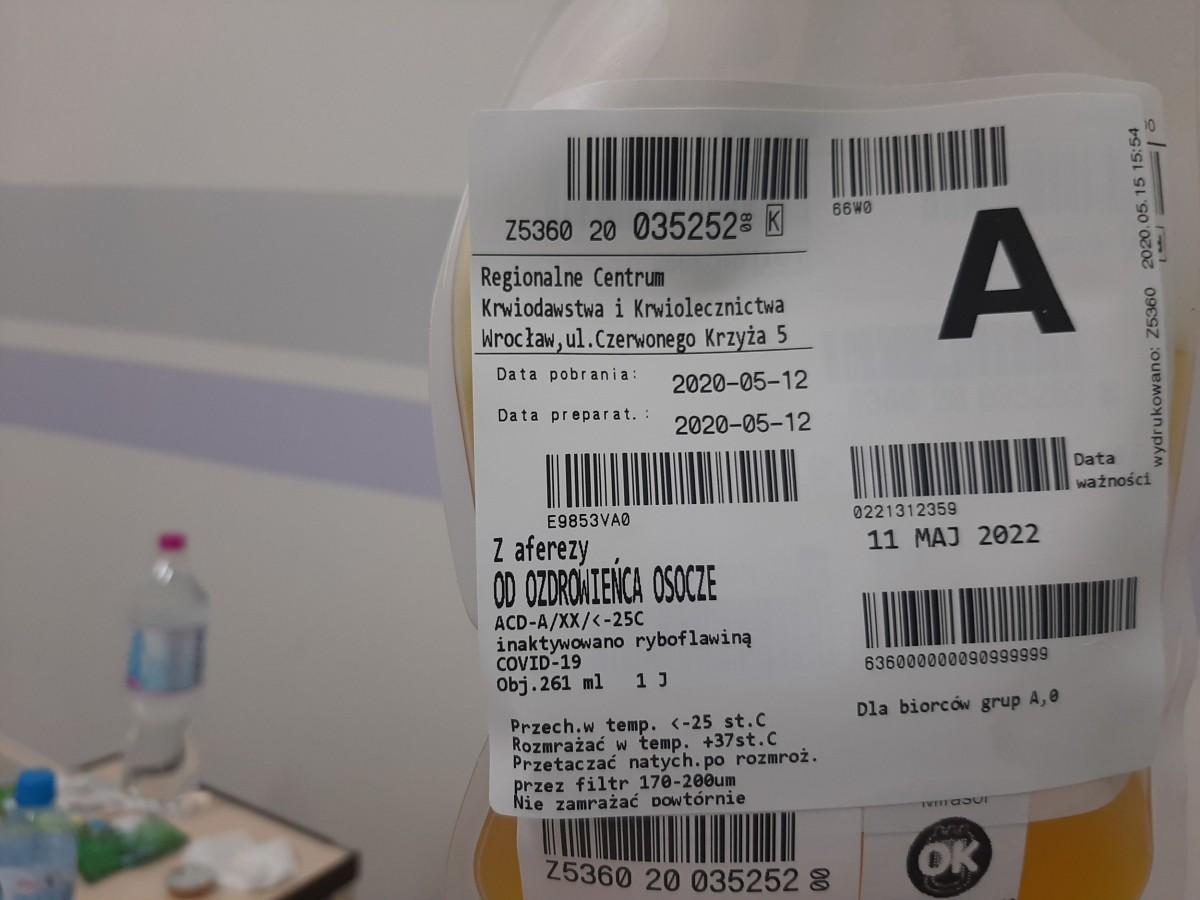 Testowe leczenie koronawirusa w bolesławieckim szpitalu