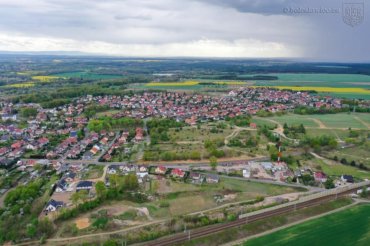 Ulica Ptasia w Bolesławcu