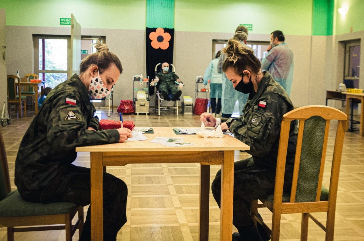 Akcja krwiodawstwa w 10 Brygadzie Kawalerii Pancernej w Świętoszowie