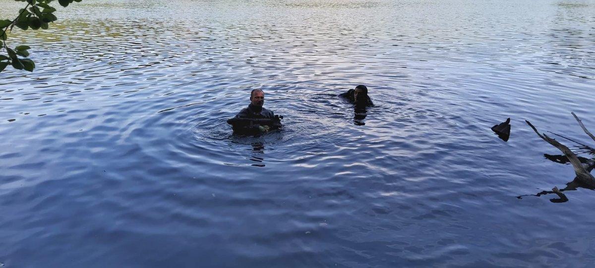 Akcja żołnierzy na Jeziorze Ciemnym w województwie lubuskim