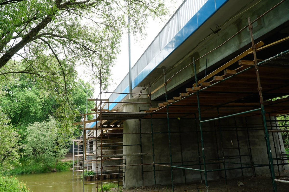 Remont mostu przy Mostowej w Bolesławcu: coraz bliżej finału