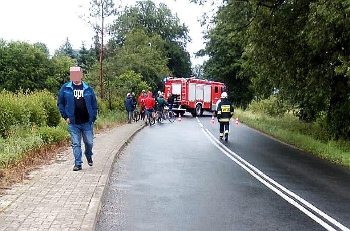 Wypadek w Raciborowicach