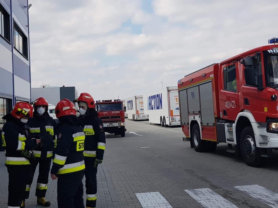 Akcje Ochotniczej Straży Pożarnej w Krzyżowej