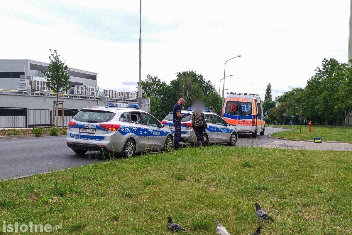 Akcja służb przy ulicy Staroszkolnej w Bolesławcu