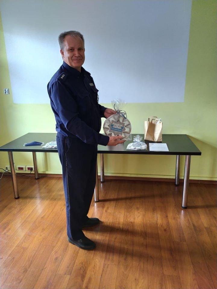Uroczystość w Komendzie Powiatowej Policji w Lwówku Śląskim