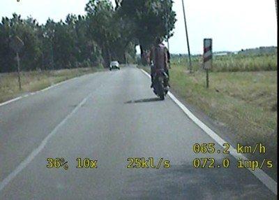 50-letni kierowca jednośladu z dożywotnim zakazem zatrzymany