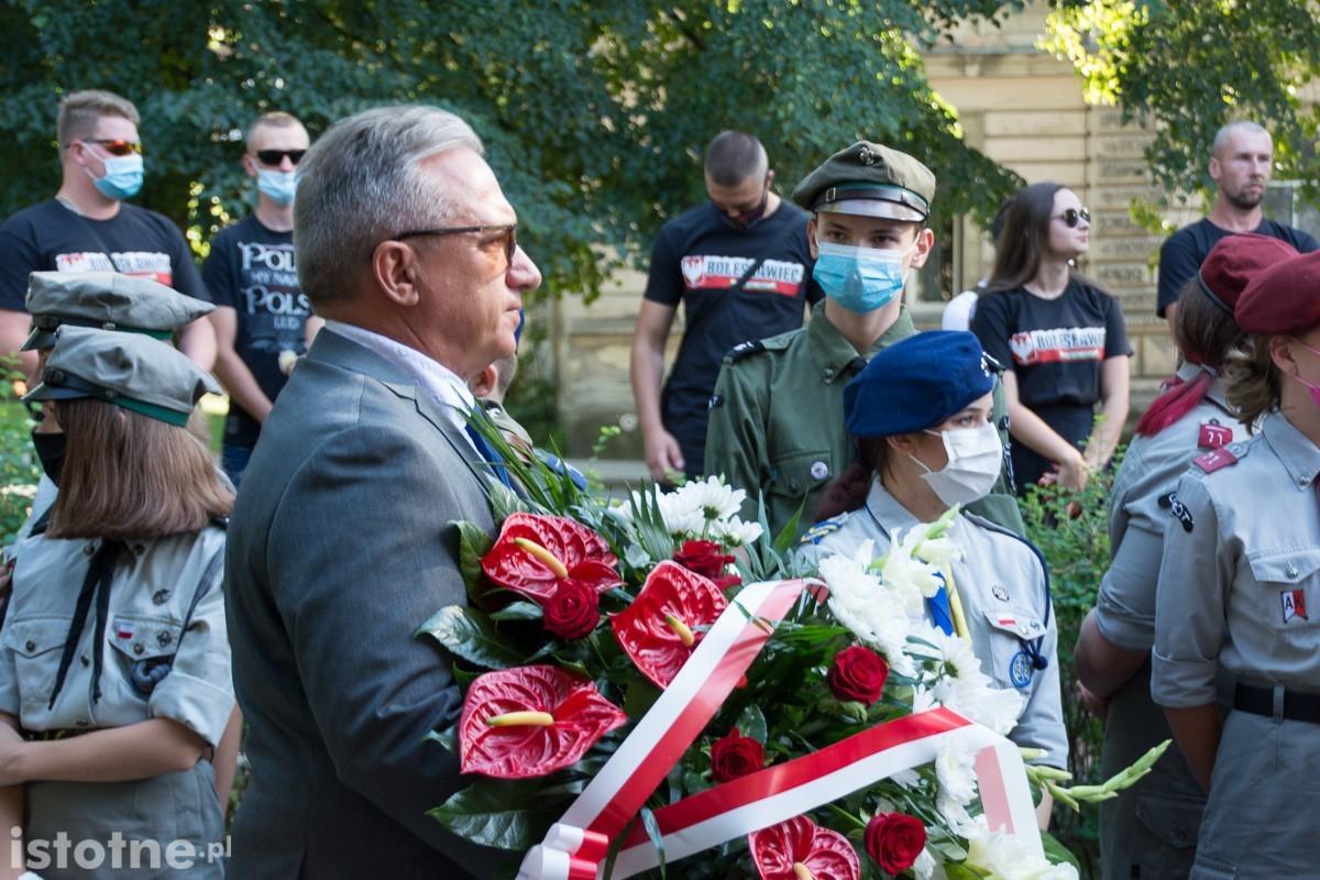 Bolesławiecka uroczystość z okazji 76 rocznicy Powstania Warszawskiego