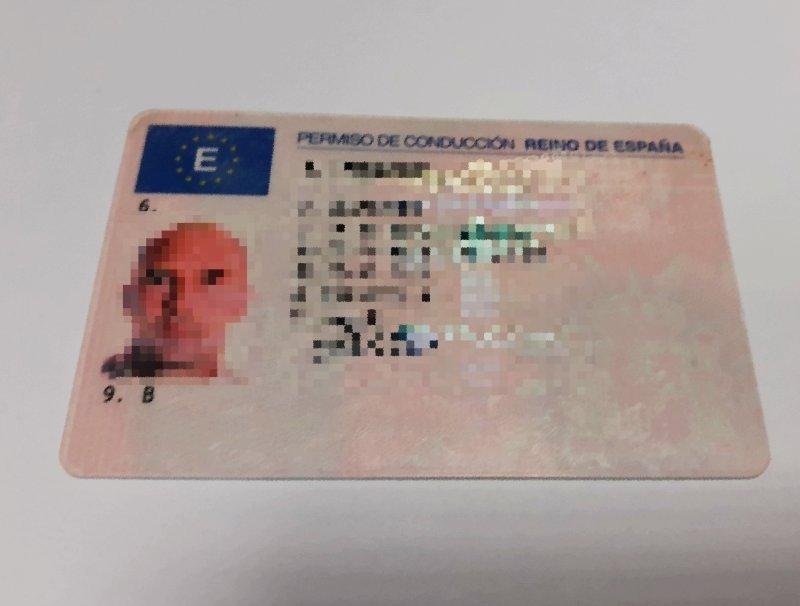 Hiszpańskie prawo jazdy