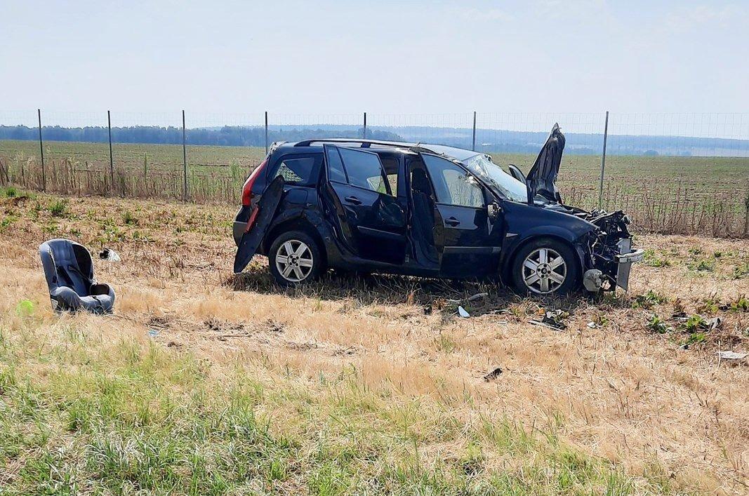 Auto wypadło z A4