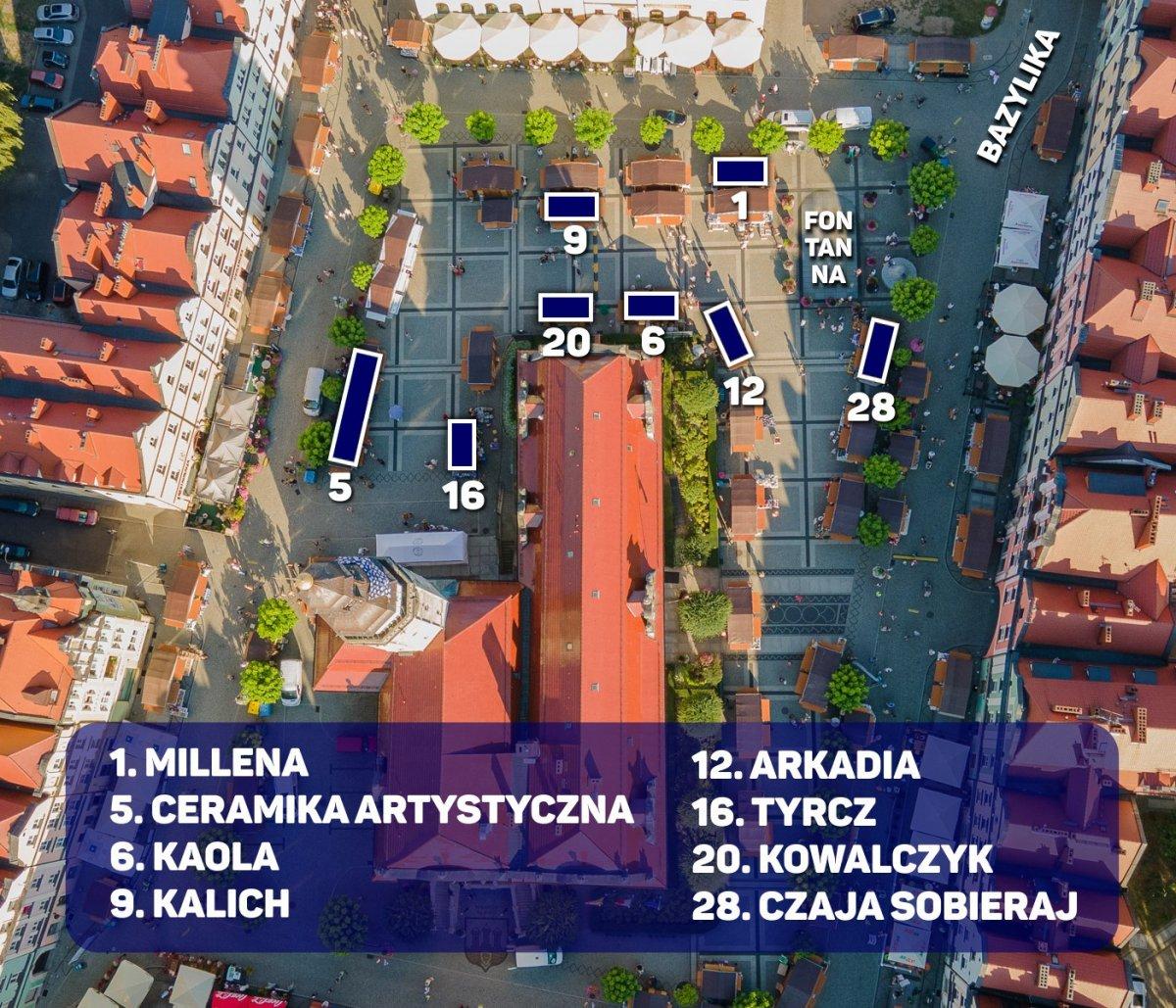 Mapa: Ceramicy polecani przez istotne.pl
