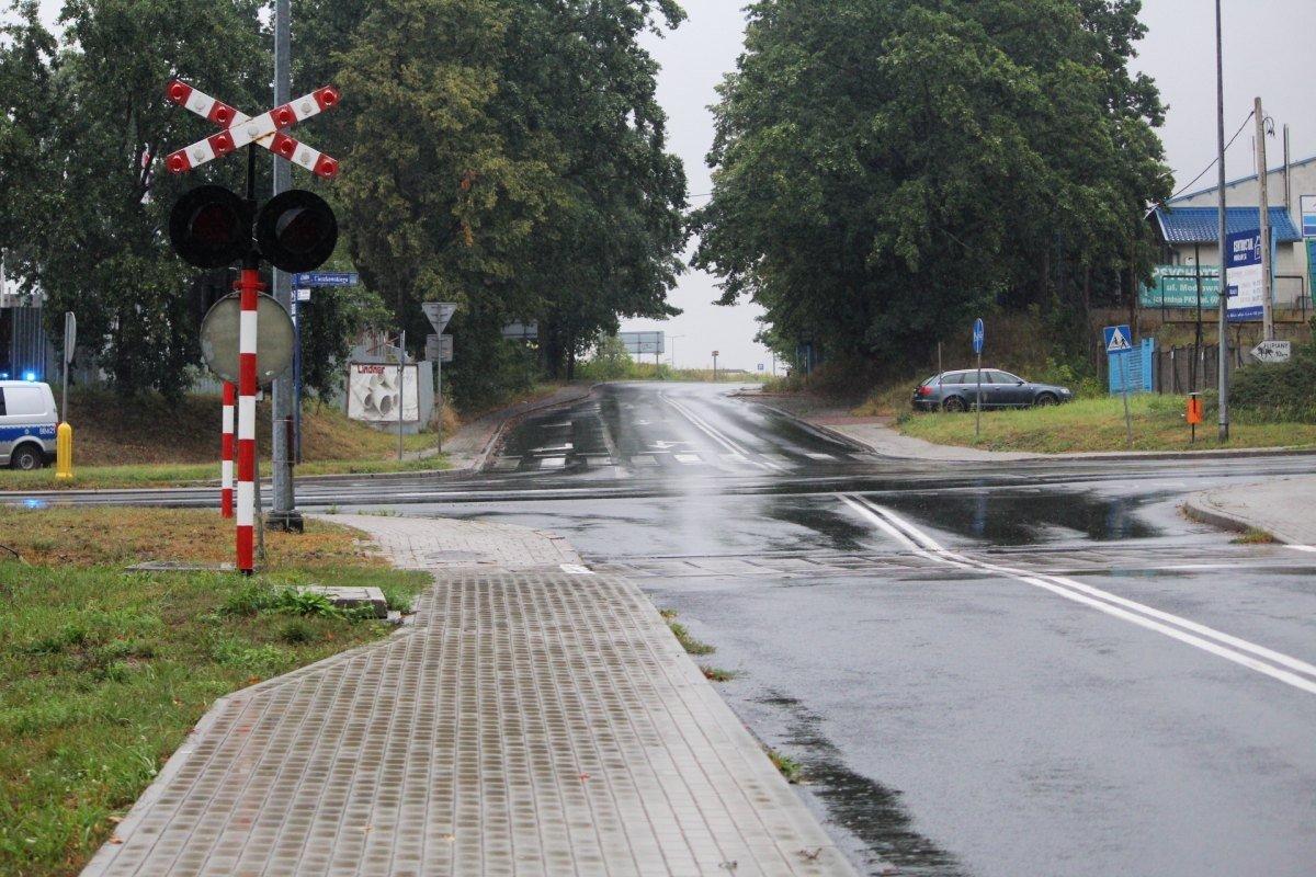 Zderzenie na skrzyżowaniu Cieszkowskiego z Modłową