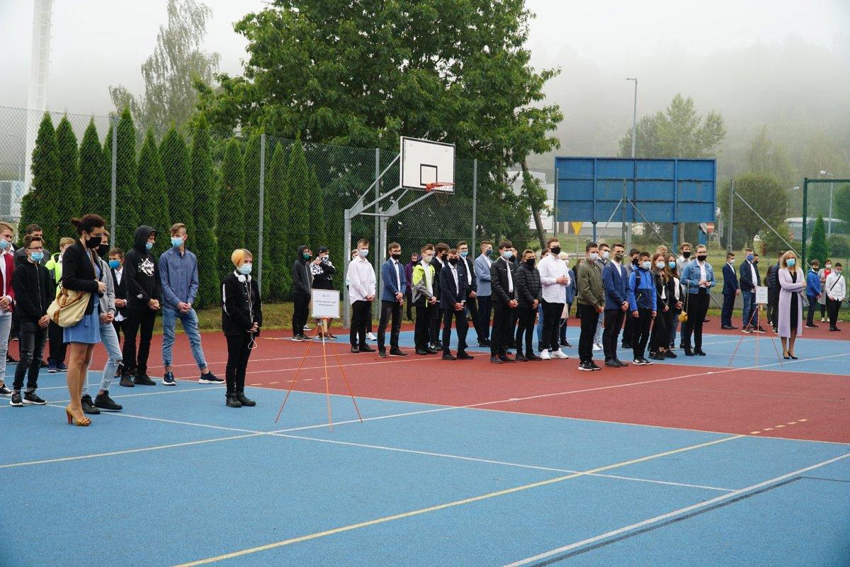 Wyjątkowe rozpoczęcie roku szkolnego w ZSB i II LO w Bolesławcu