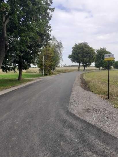 Nowa droga w Godzieszowie (gmina Nowogrodziec, powiat bolesławiecki)
