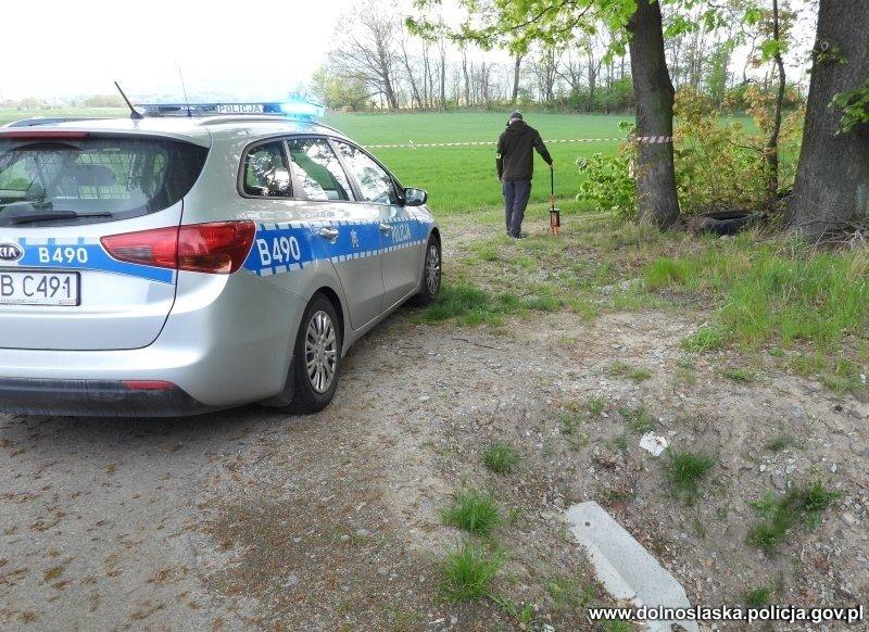 Działania policji związane z zabójstwem w Pieszycach